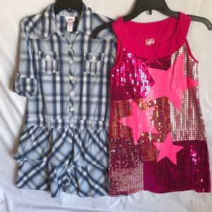 👗 Lot of 2 Girls Dresses by Justice size 12